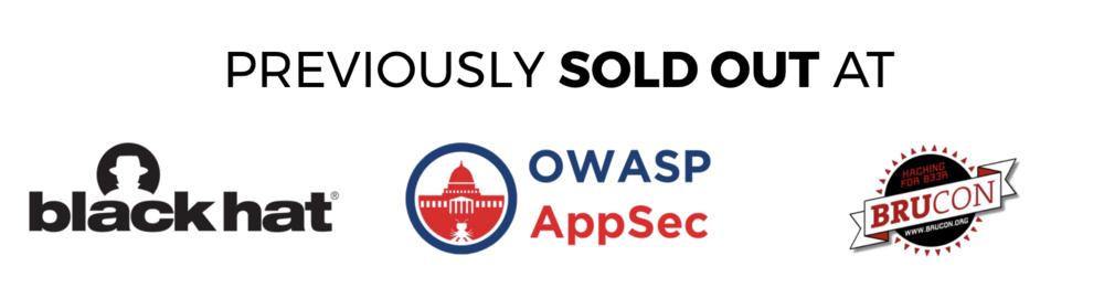 BlackHat OWASP AppSec Brucon