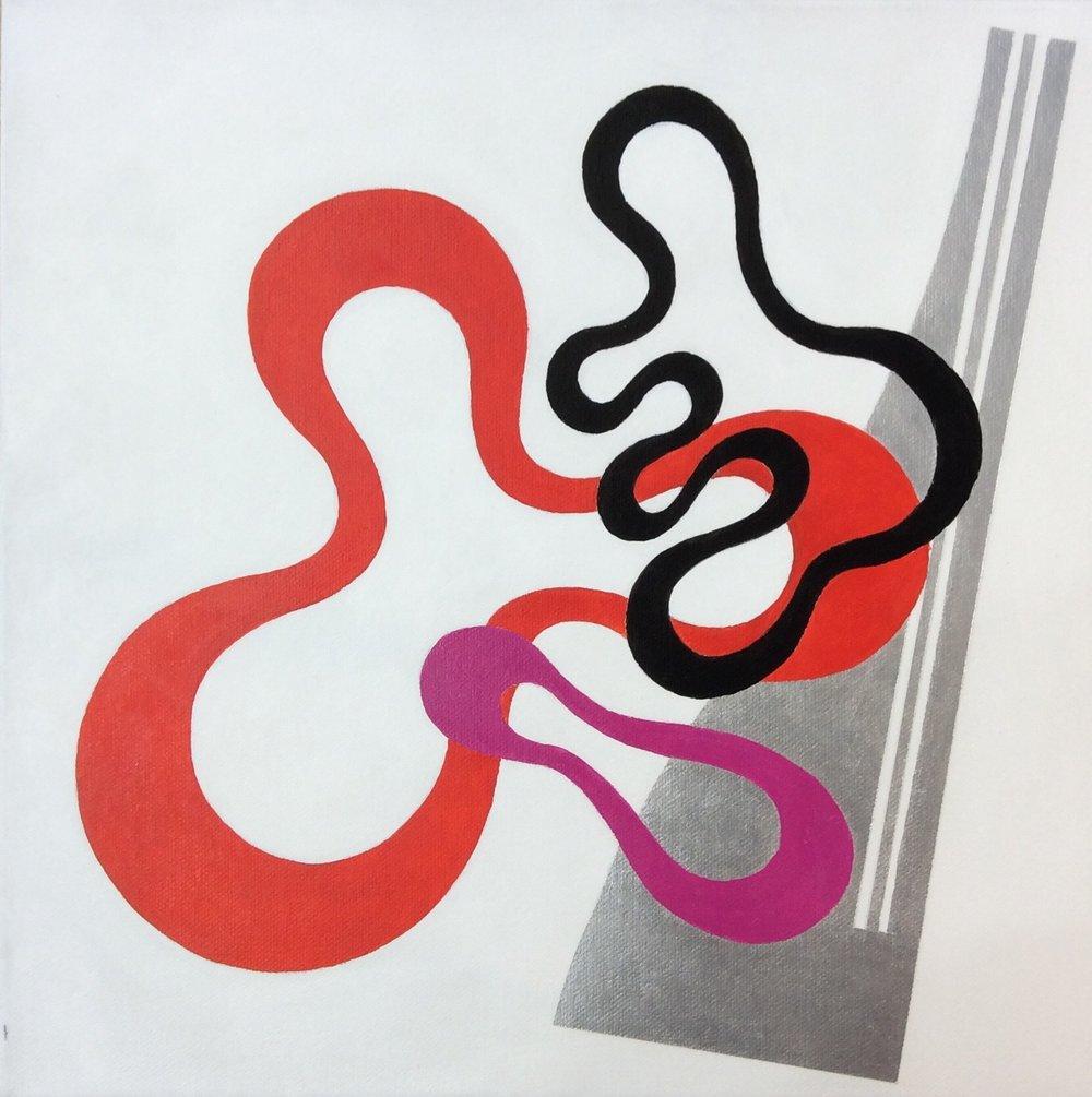 """Acrylic on Canvas 12"""" x 12"""""""