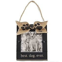 Best Dog Ever Picture Frame Fields Floral