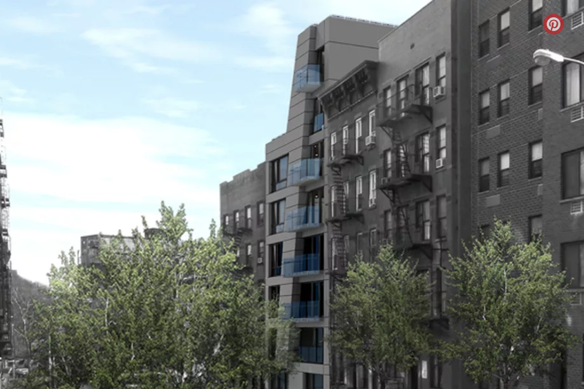 East Harlem May Get New Eight-Story Condo Development - According to plans filed in June, the 19,159-square-foot building will be designed by Melamed Architect.
