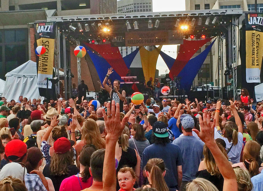 """Michael Franti-Twin Cities Jazz Fest"