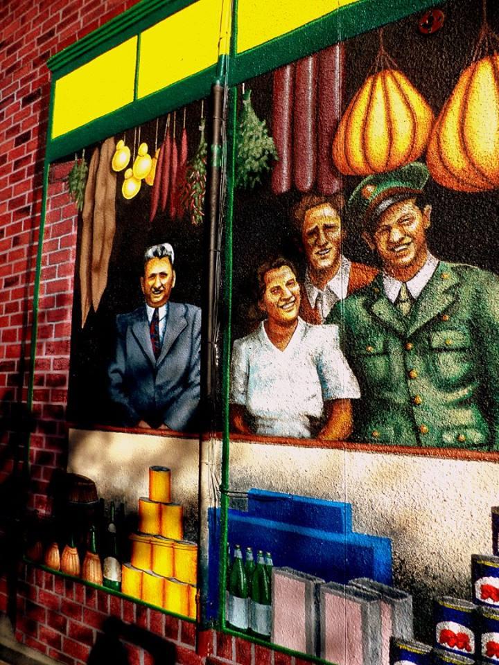 DiPasquale's Mural (Detail)