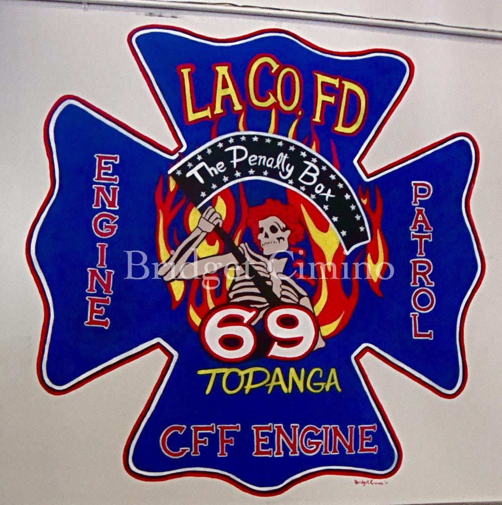 Topanga Fire Station Mural