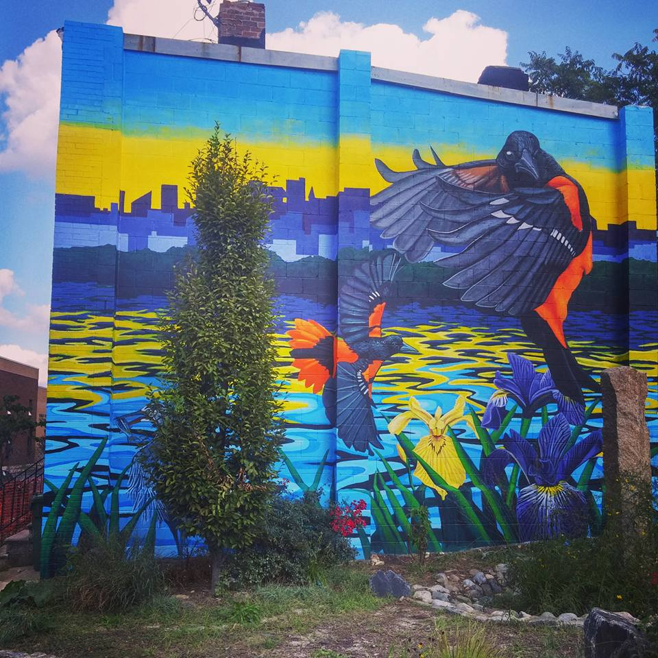 Healthy Harbor Watershed Mural