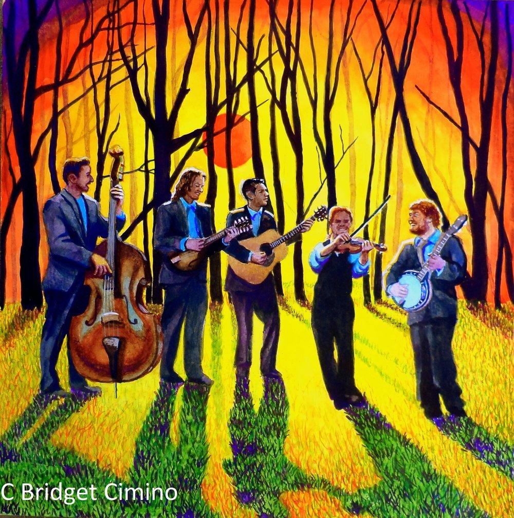 Album Cover, Highland Hill Boys