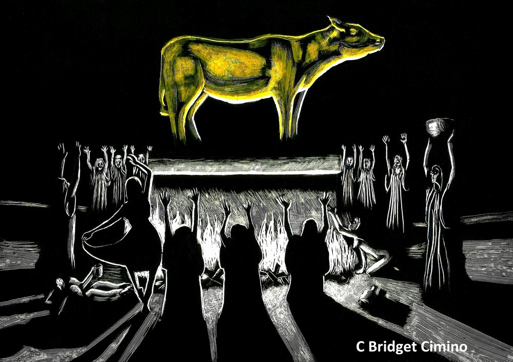 """Golden Calf"" Schmuck Logo"