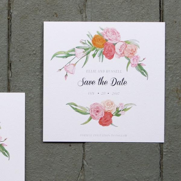 Flourish Save The Date