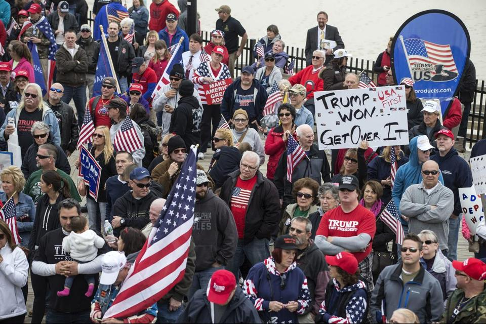 Trump and the rally culture    April 12, 2017