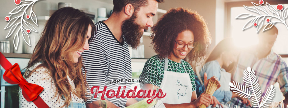 Home For The Holidays! -