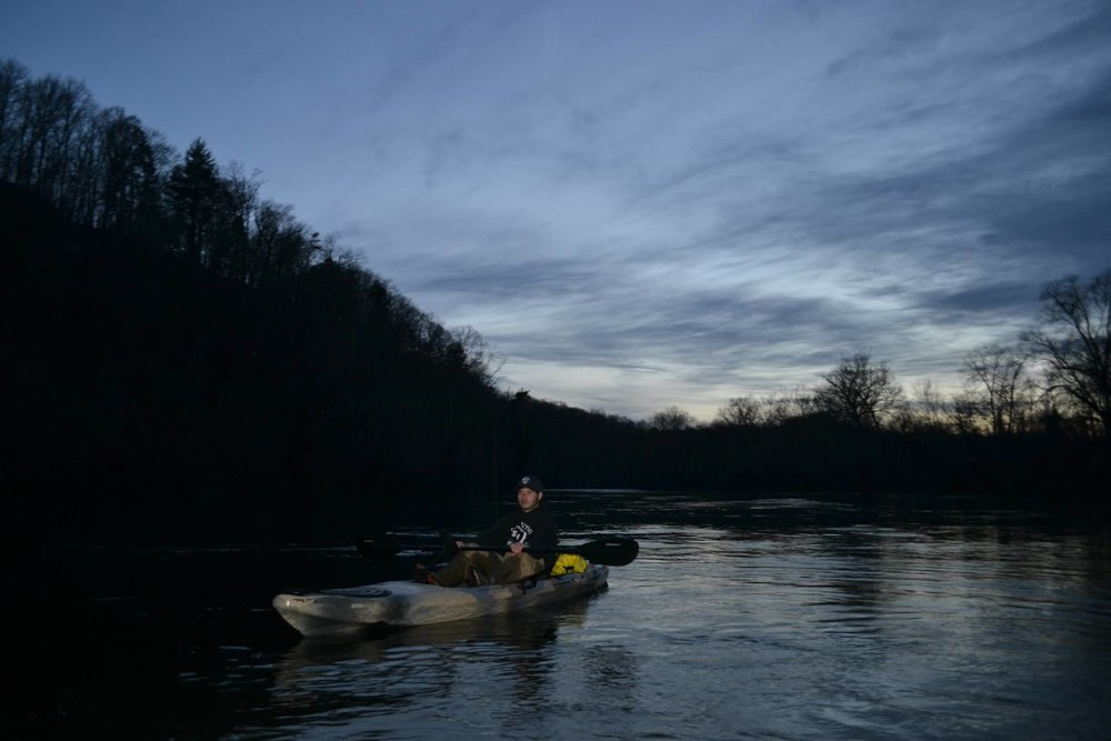 James River (night float)