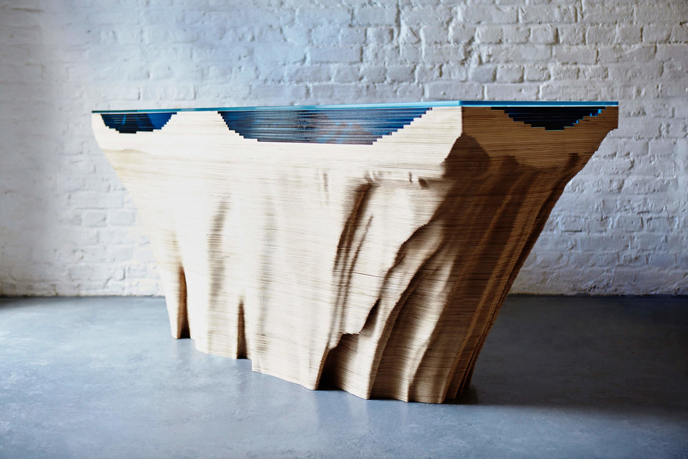 Abyss Console Table, 2016