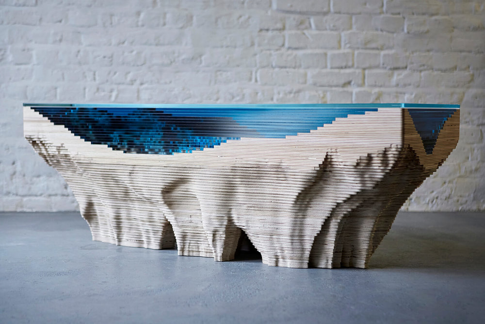 Abyss Coffee Table, 2016