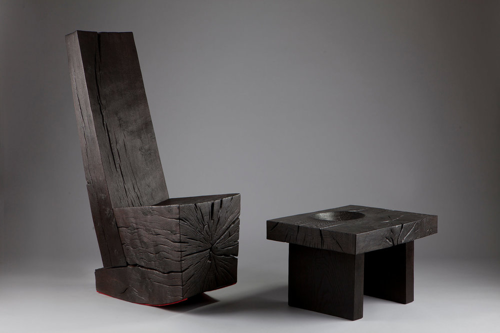 Block Rocker 3 and Small Bowl Table 4, 2014