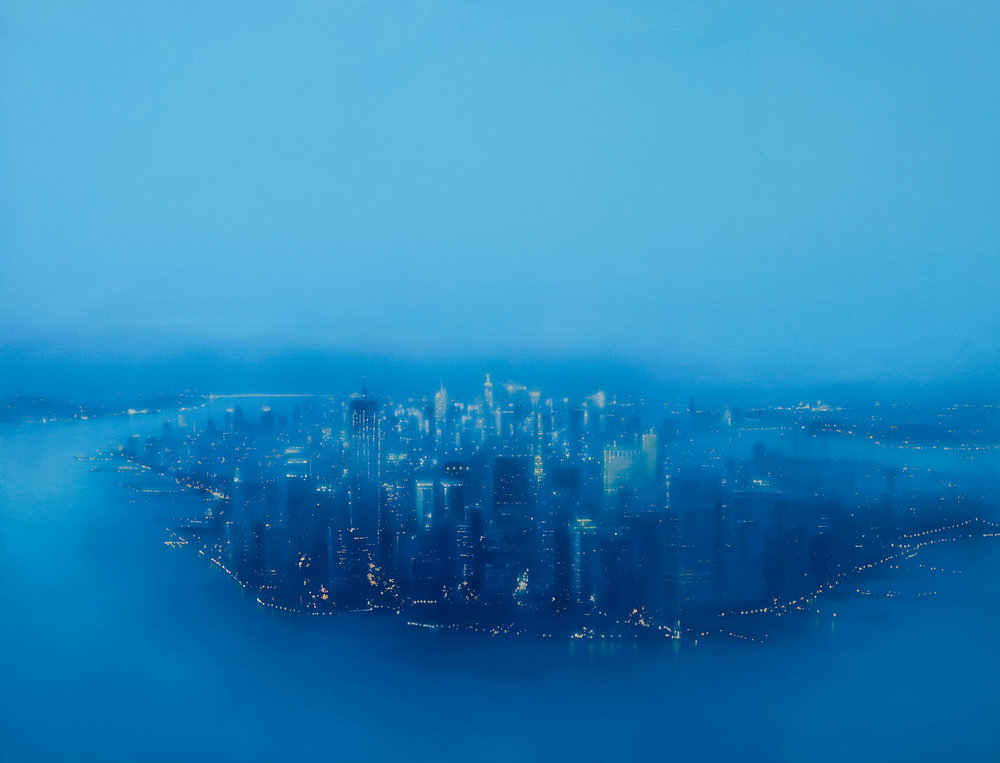 Blue Manhattan Island, 2012