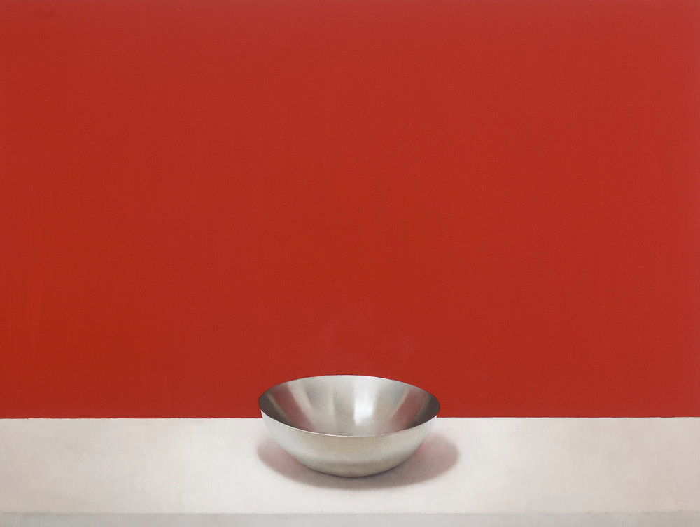 Silver Bowl (Red), 2012
