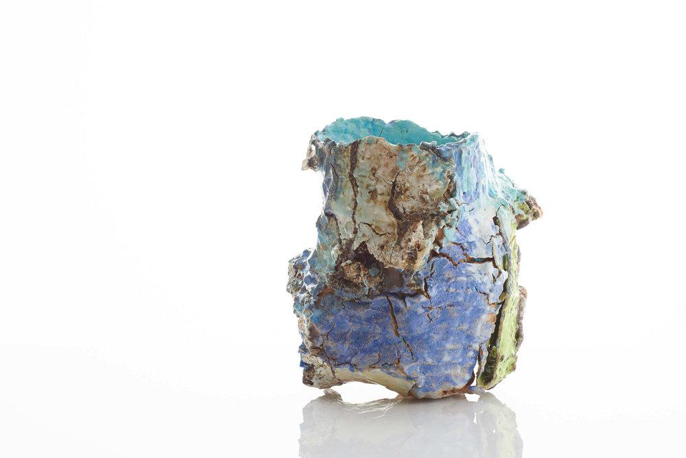 Raining Stone 8 Container, 2017