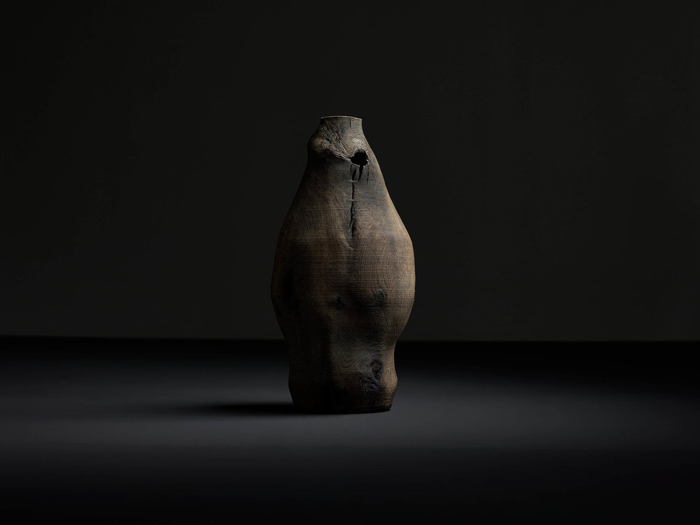 Ernst Gamperl, Object in Oak, 2015. Photo Bernhard Spoettel