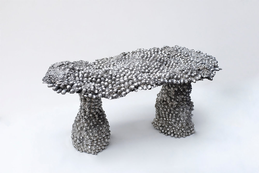 Cocoon Bench - Frozen Collection, 2017