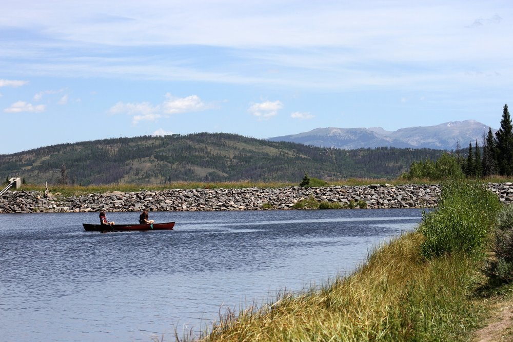 Canoeing at the YMCA of the Rockies, Snow Mountain Ranch. Image source: YMCA.
