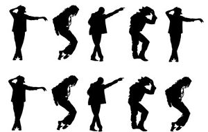 Some of Michael Jackson's dance moves he showed me.