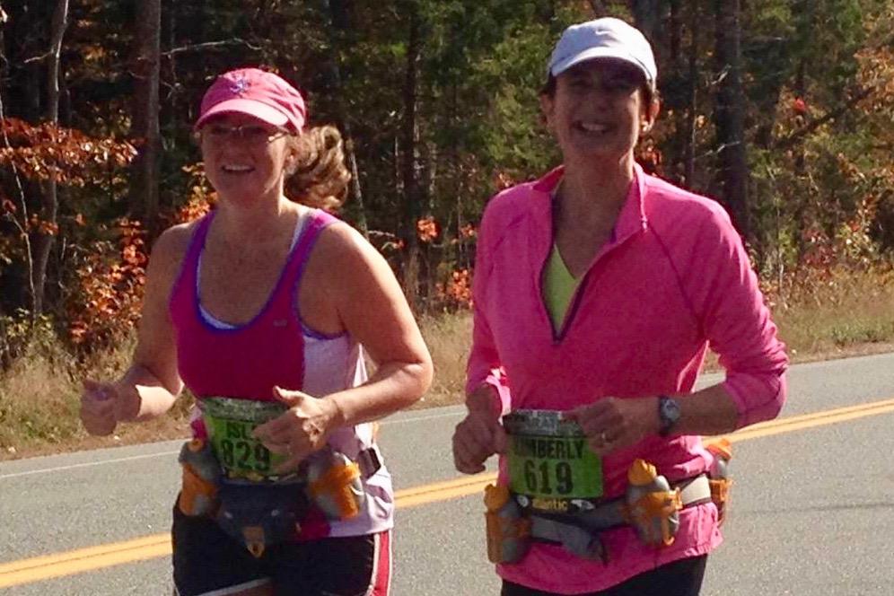 Isla & Kim, MDI Marathon, 2013