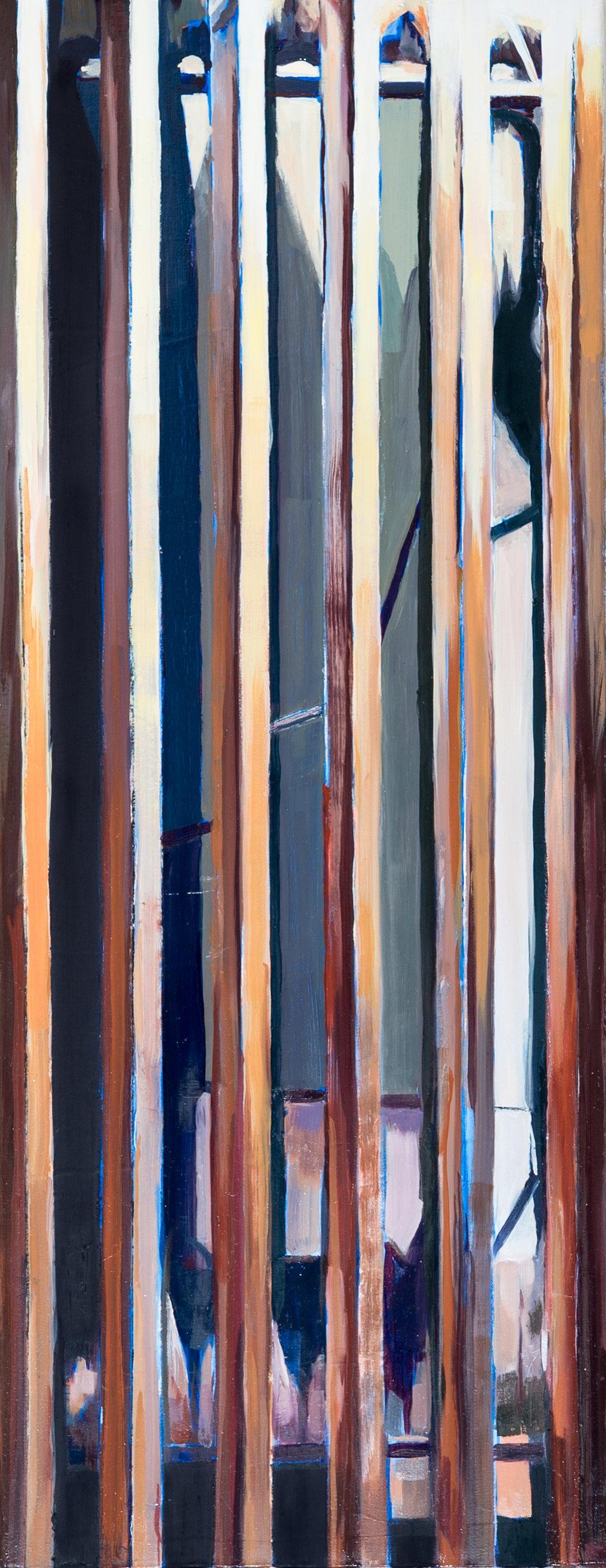 "14x36""  Oil on canvas"