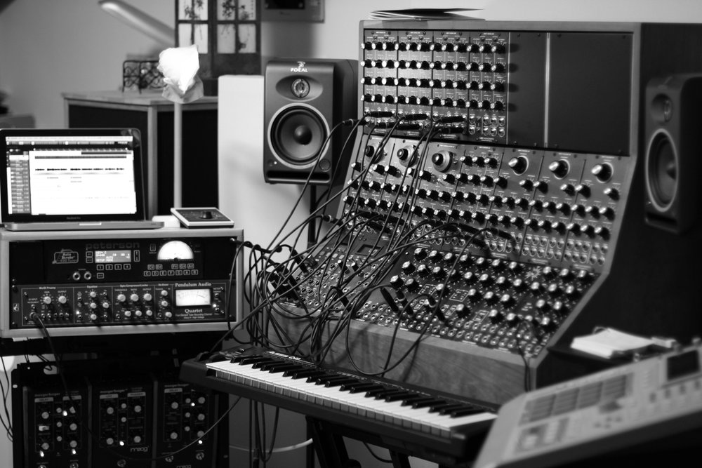 Modular synth  setup 2014