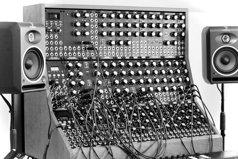 The MOTM Analog Modular Synthesizer