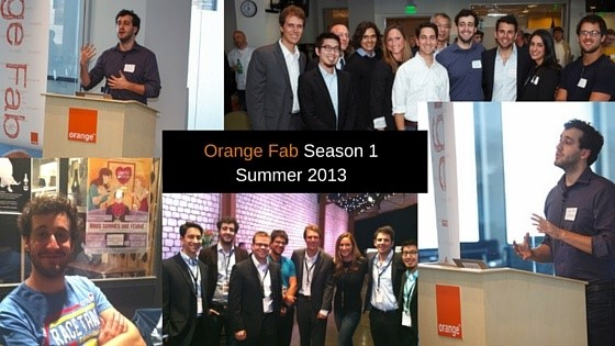 Tiago Paiva, CEO TalkDesk, while at Orange Fab