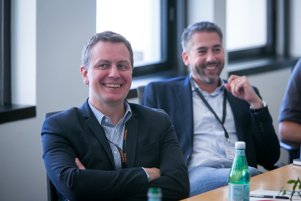 All smiles from Mazars during the Fintech Council session.