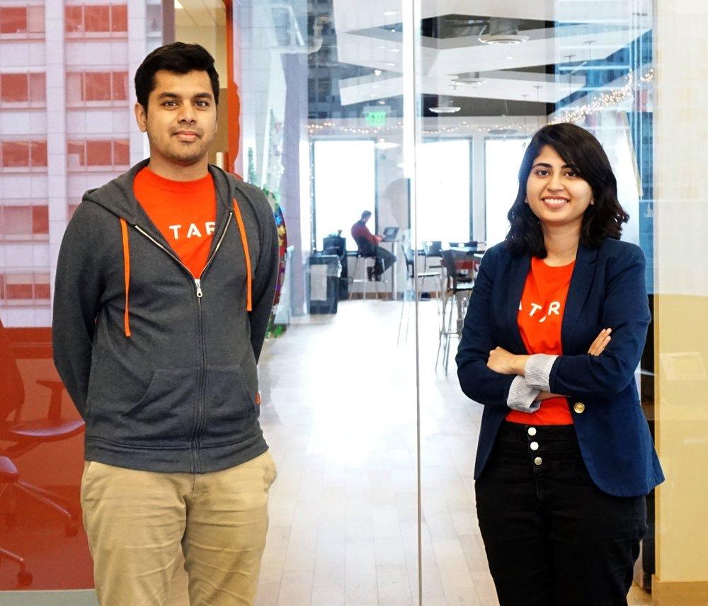 TARA co-founders Syed Ahmed and Iba Masood