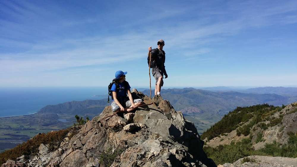 New Zealand Guided Trips with NZ Kiwi Adventures - formerly Walking and Biking Kaikoura