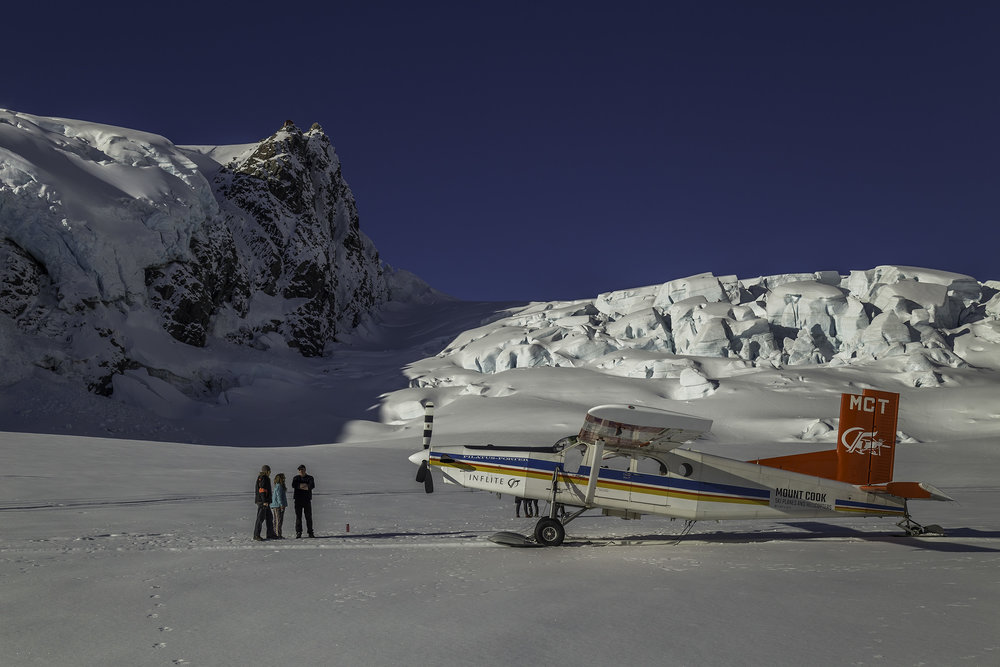 Join us with the Team on the Glacier at Aoraki Mount Cook National Park with Mt Cook Ski Planes and Helicopter and Mount Cook Glacier Guides Contact us for more on our Guided Day and Half Day Tours   info@nzkiwiadventures.com