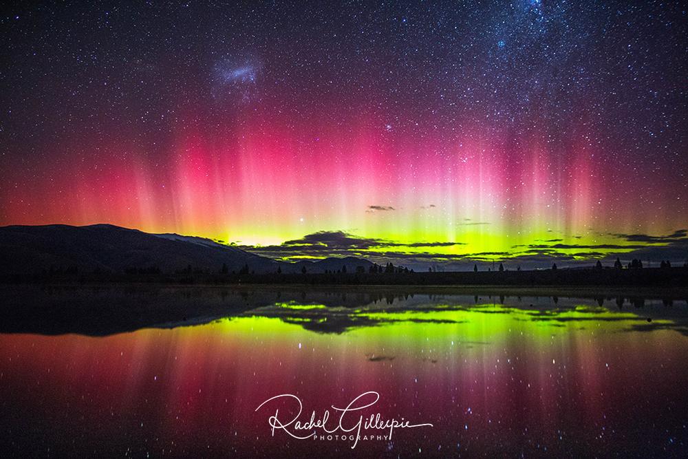 Dancing Aurora Australis