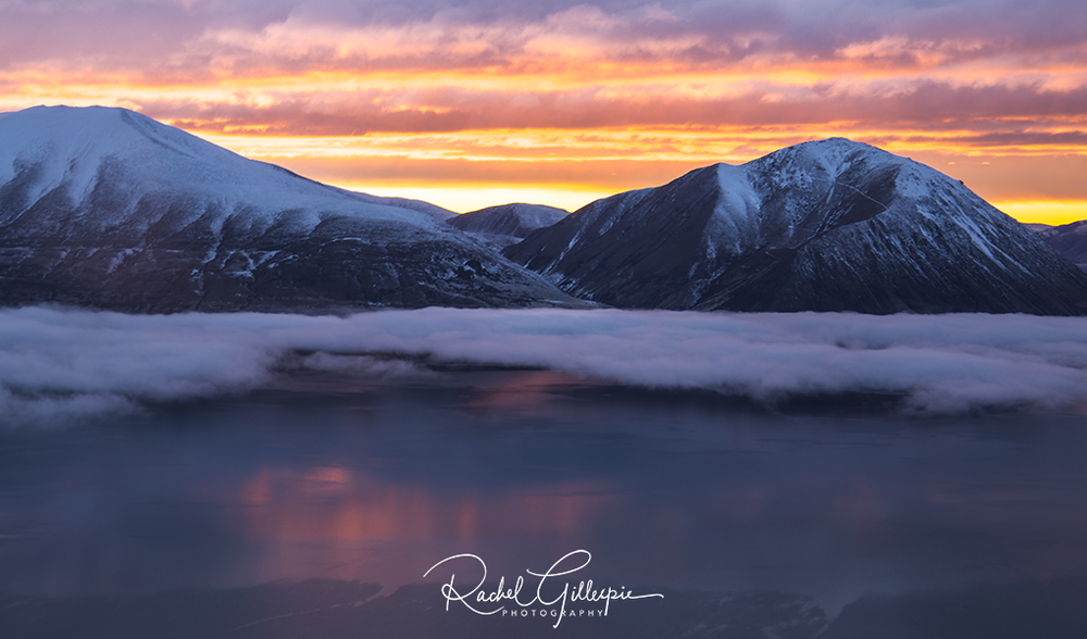 Lake Ohau Sunrise, New Zealand -  Image #6