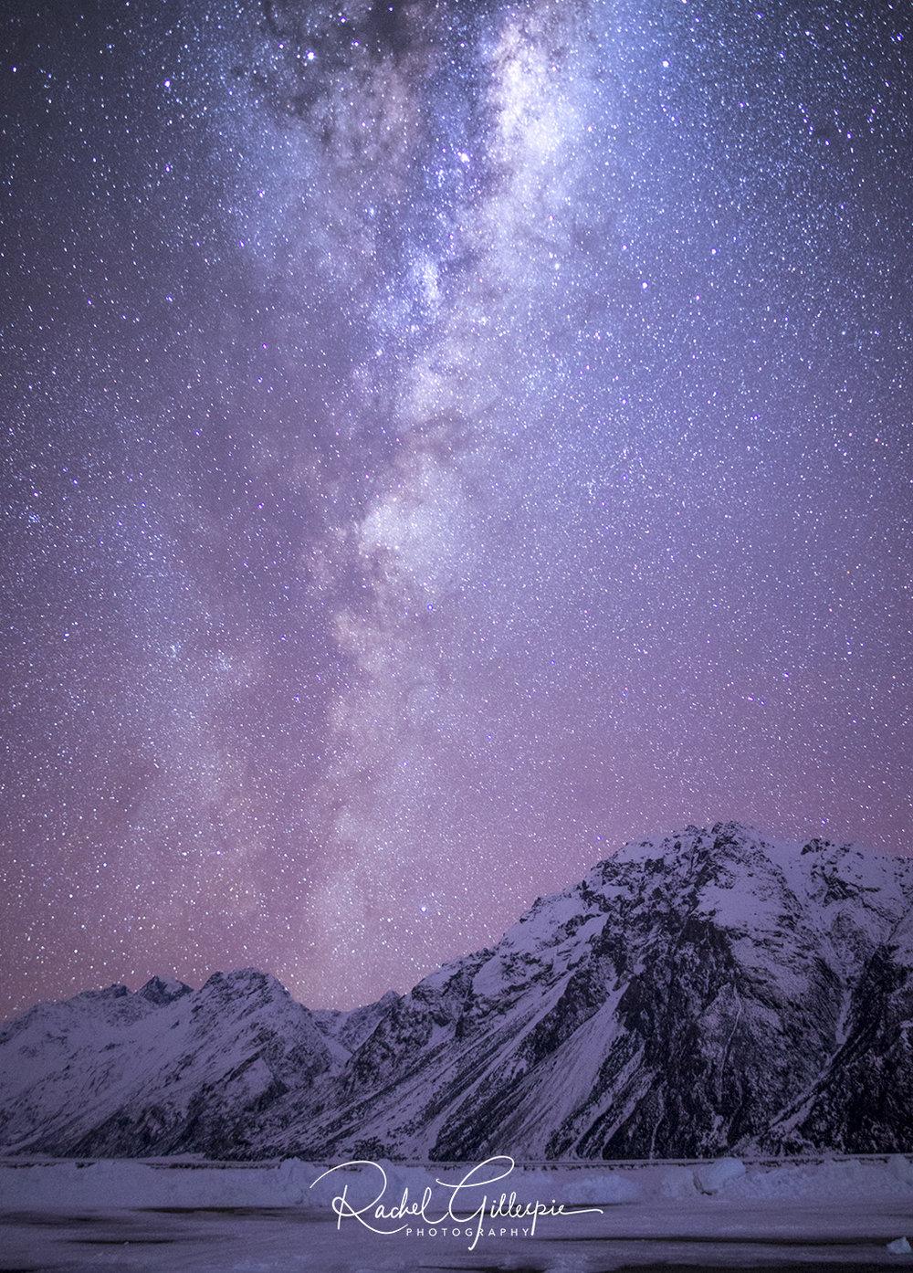 Pink Galaxy, Aoraki Mt Cook -  Image #2