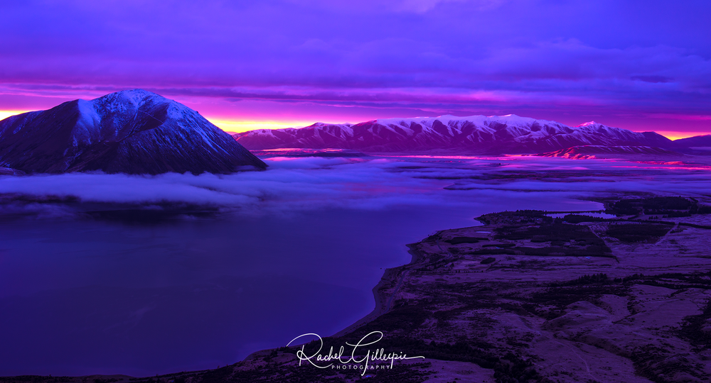 Sunset Dreams - Lake Ohau New Zealand - Image #17