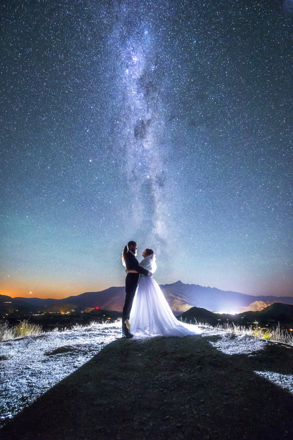 Under the Night Sky Queenstown - Wedding