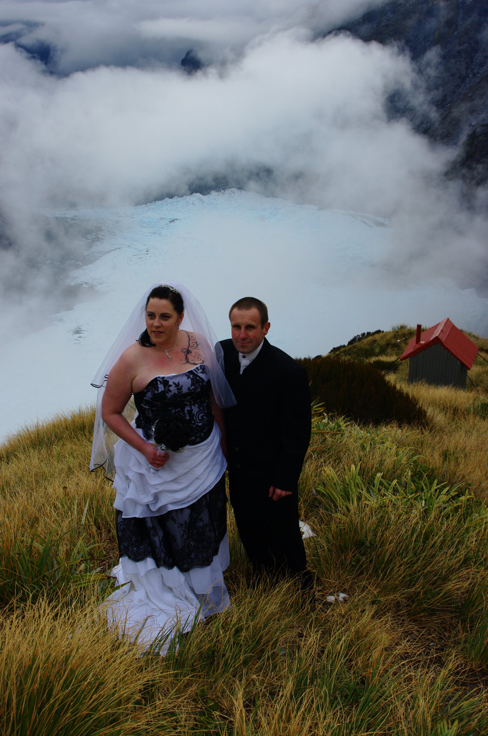 Fly onto a Glacier - Wedding