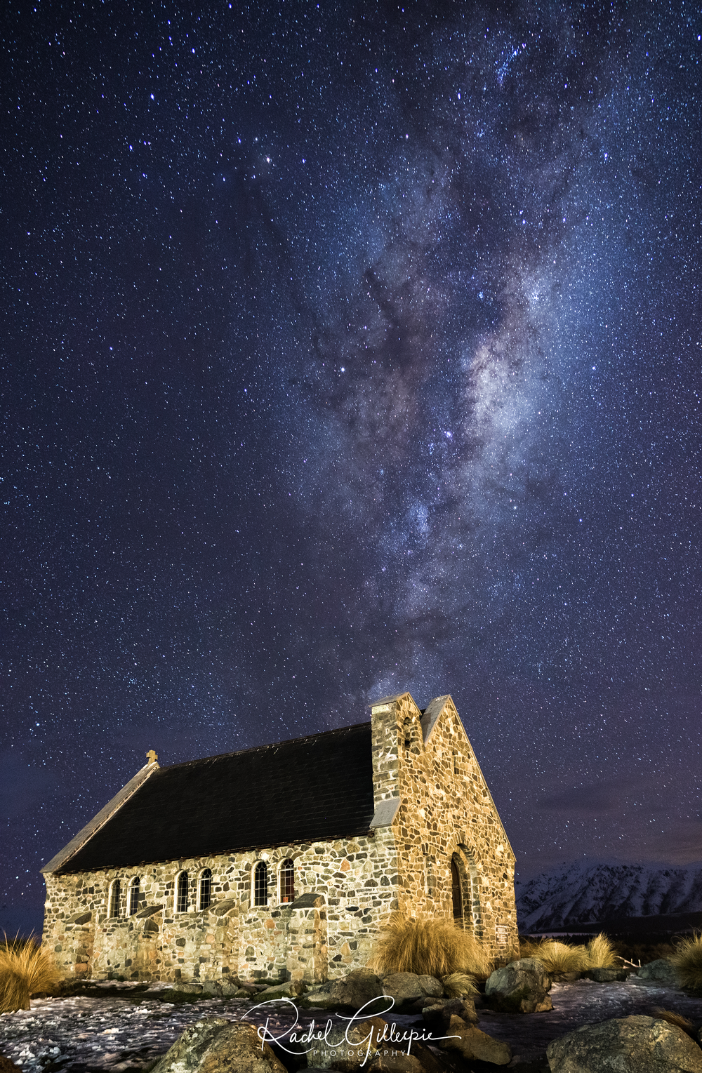 Astrophotography Lake Tekapo, New Zealand
