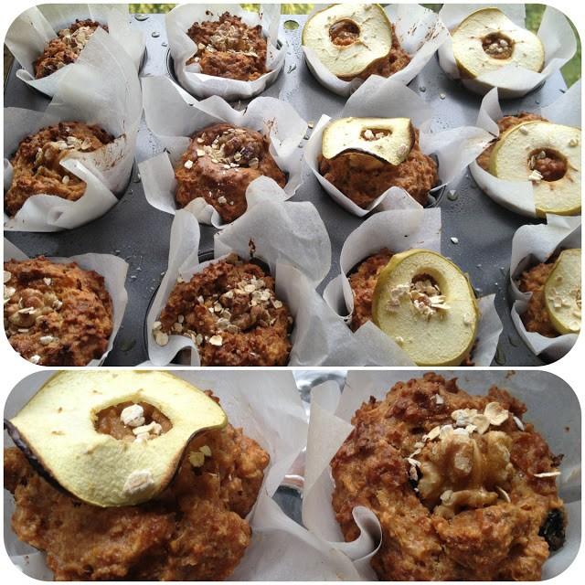 Allbran-muffins