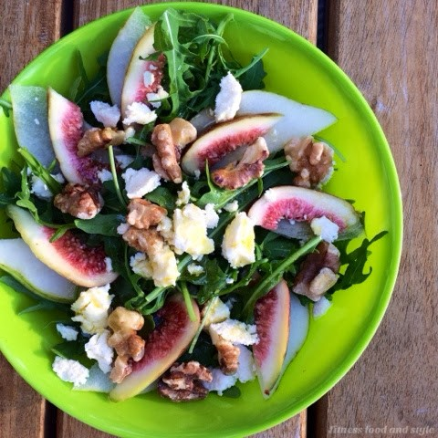 fig walnut salad