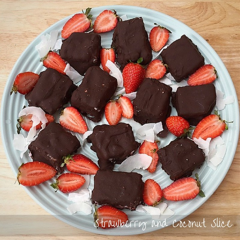 Strawberry-and-Coconut-Slice