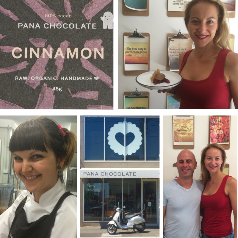 Dani with Pana and Chef Amber