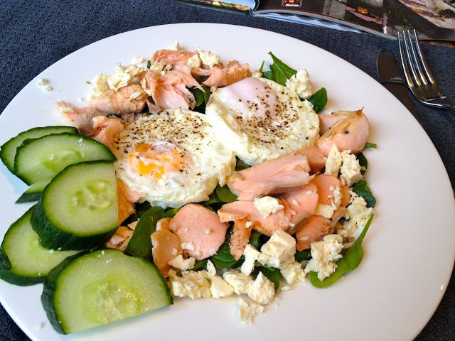 eggs salmon breakfast dani stevens