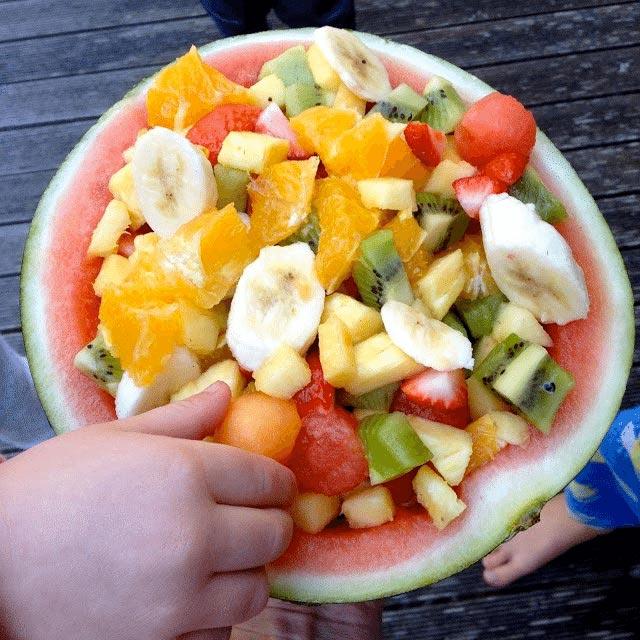 Fruit salad by Dani Stevens
