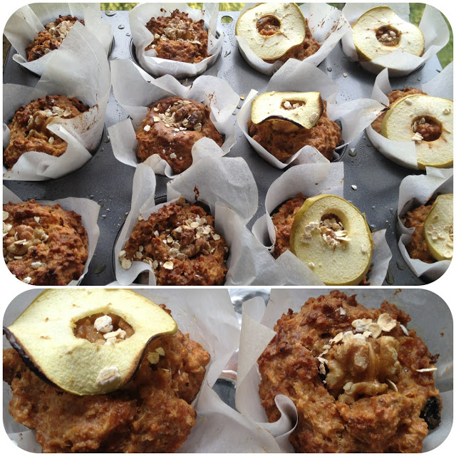 Allbran muffins
