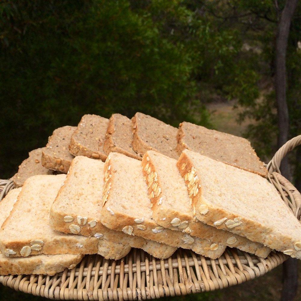 macro bread oats rye