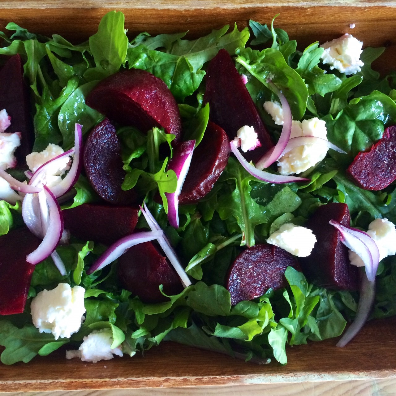 Betroot Feta Rocket Salad