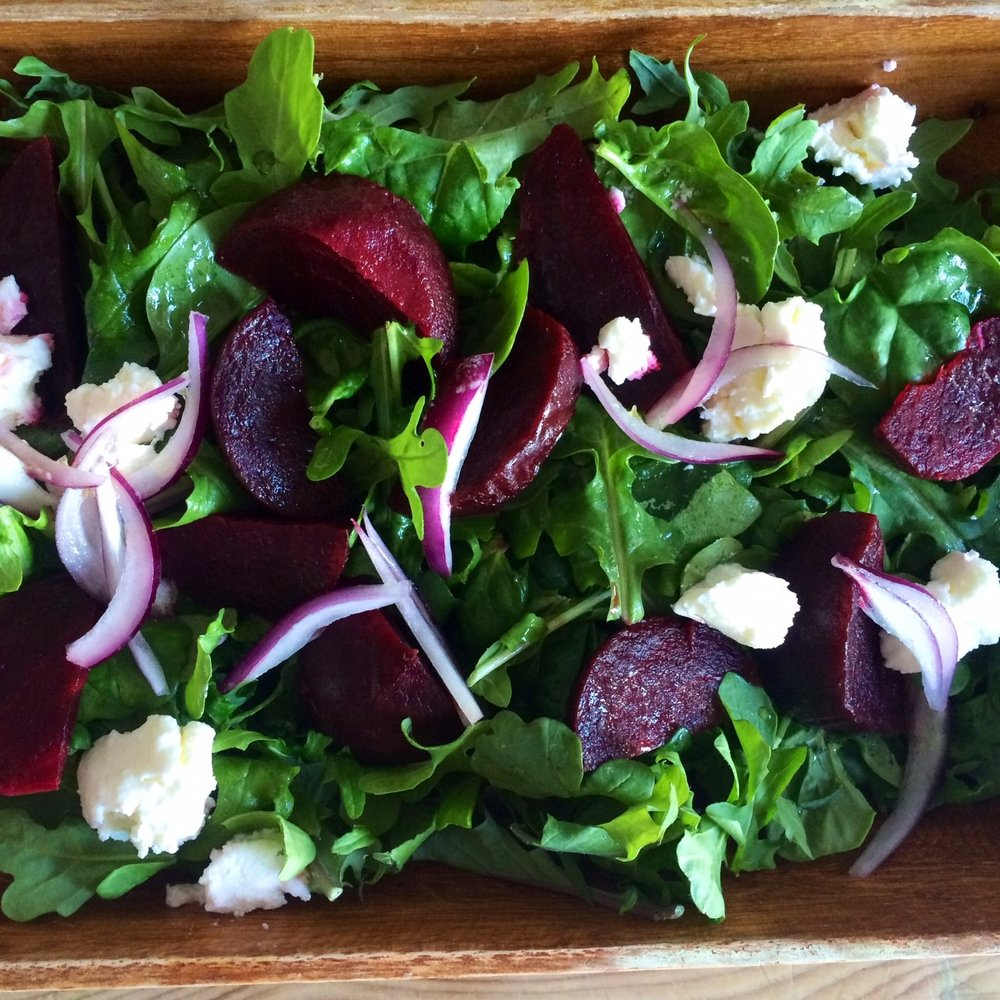 Betroot Feta Rocket Salad